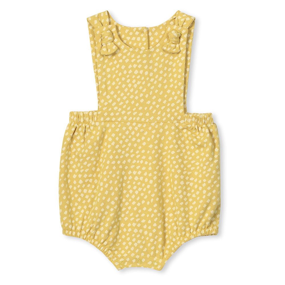 Spot Baby Playsuit Yellow
