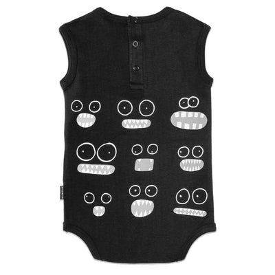 Organic Big Eyes Baby Onesie