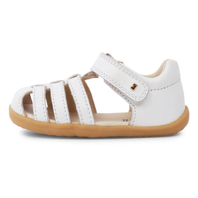 Step Up Jump Sandal White