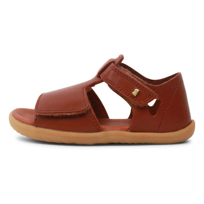 Step Up Mirror Sandal Chestnut