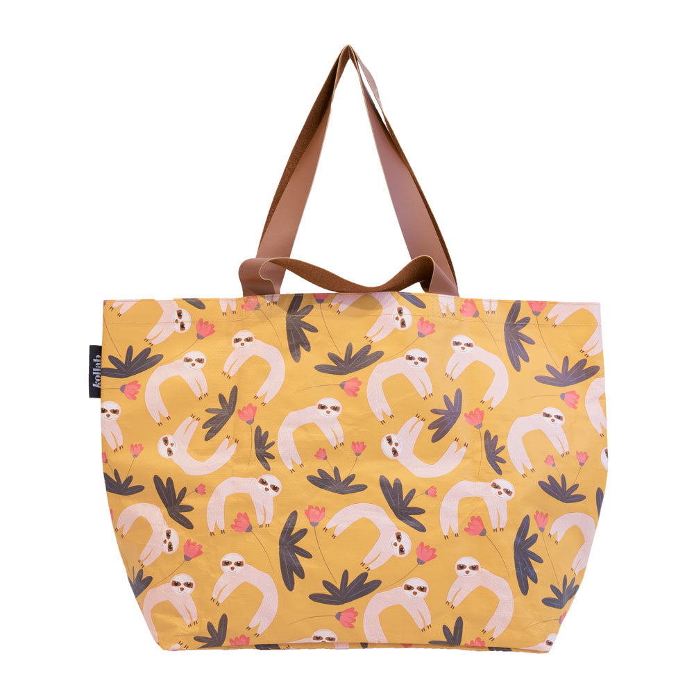 Poly Shopper Tote Sloth