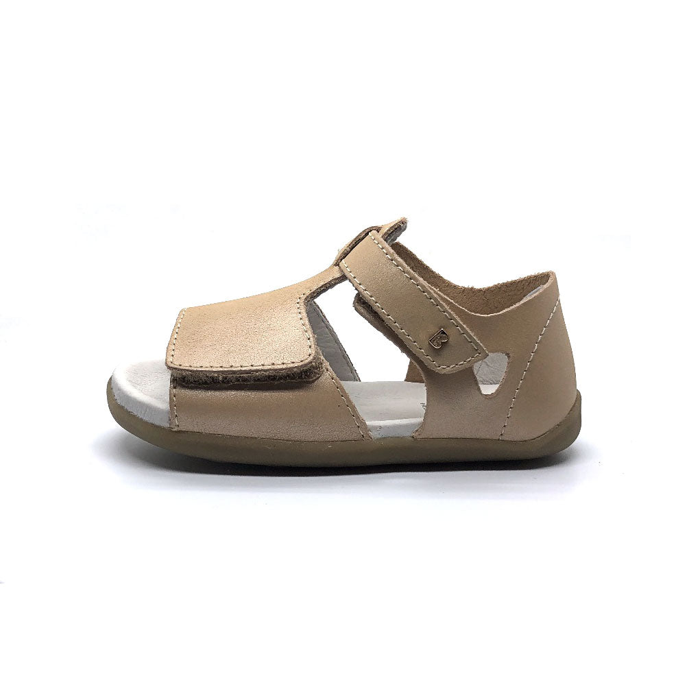 Step Up Mirror Sandal Champagne Shimmer