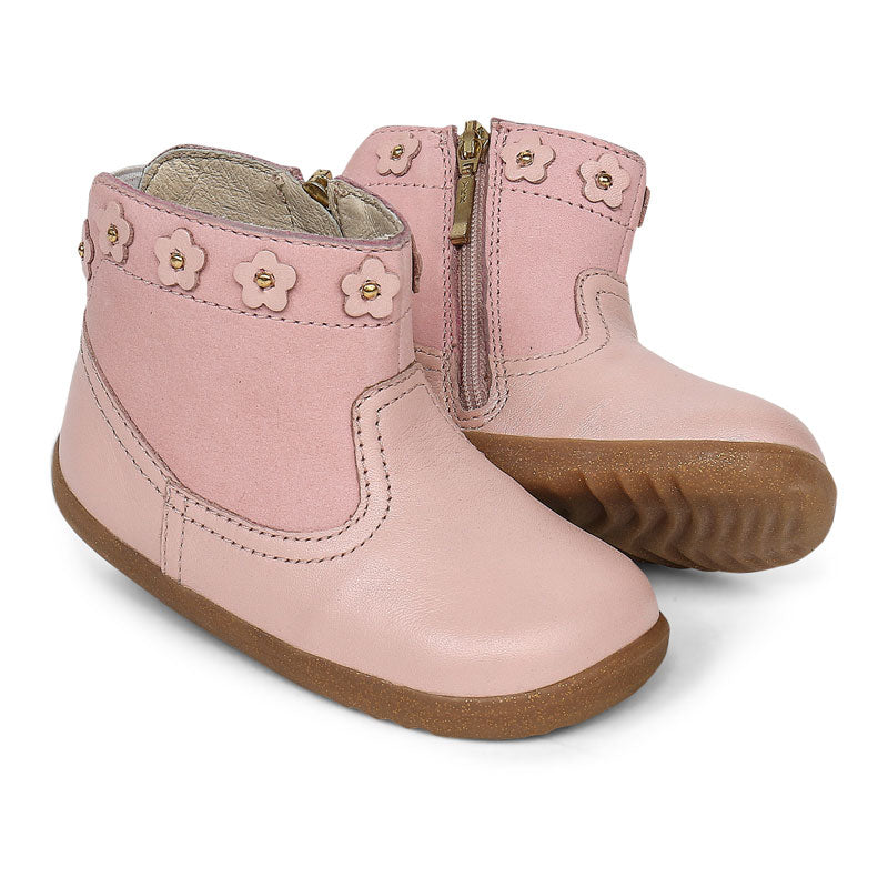 Step Up Daisy Girls Boot Seashell Shimmer