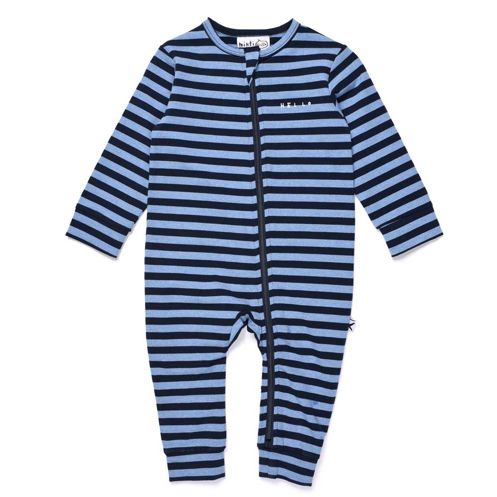 Striped Baby Zippy Suit