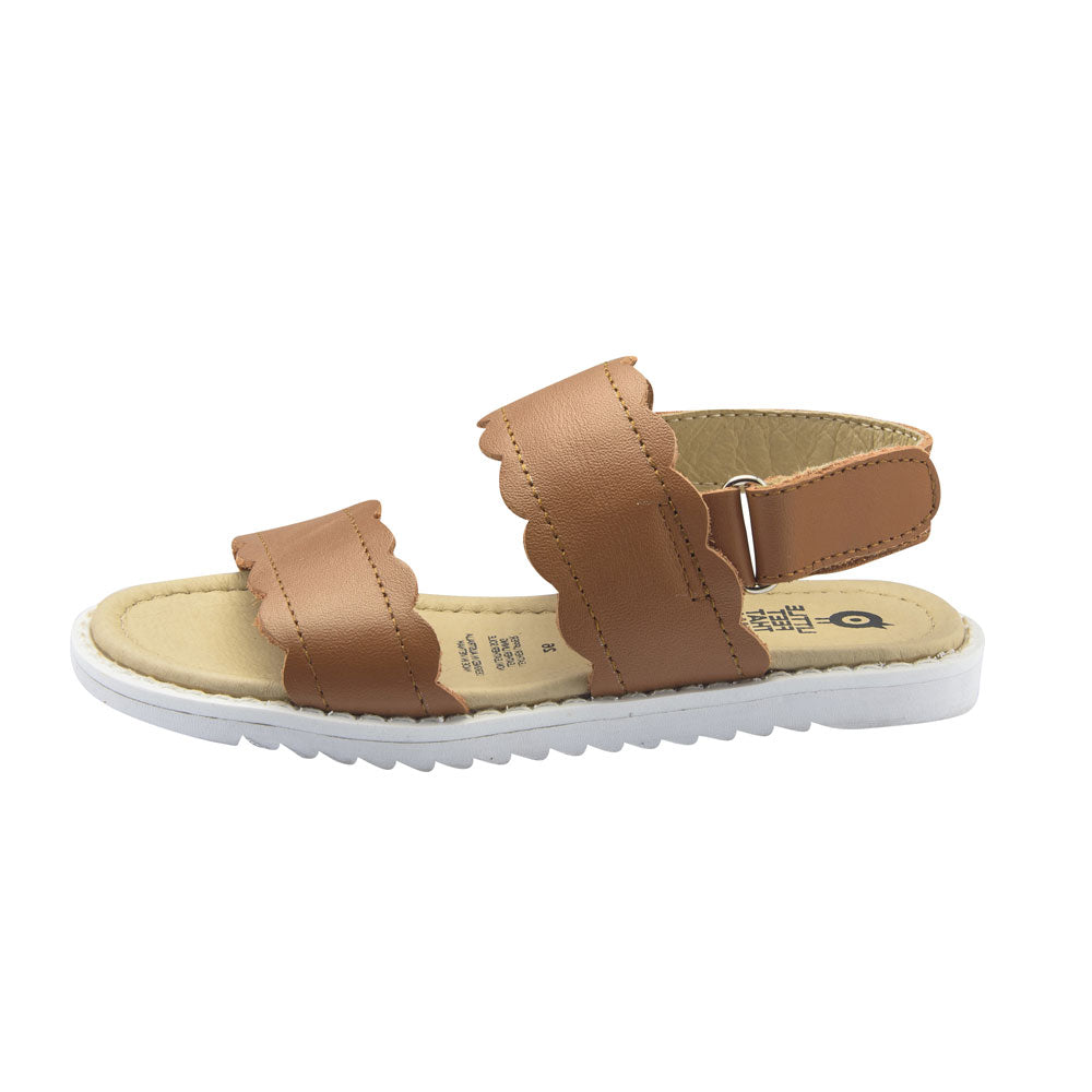 Sweet Curve Girls Sandal Tan