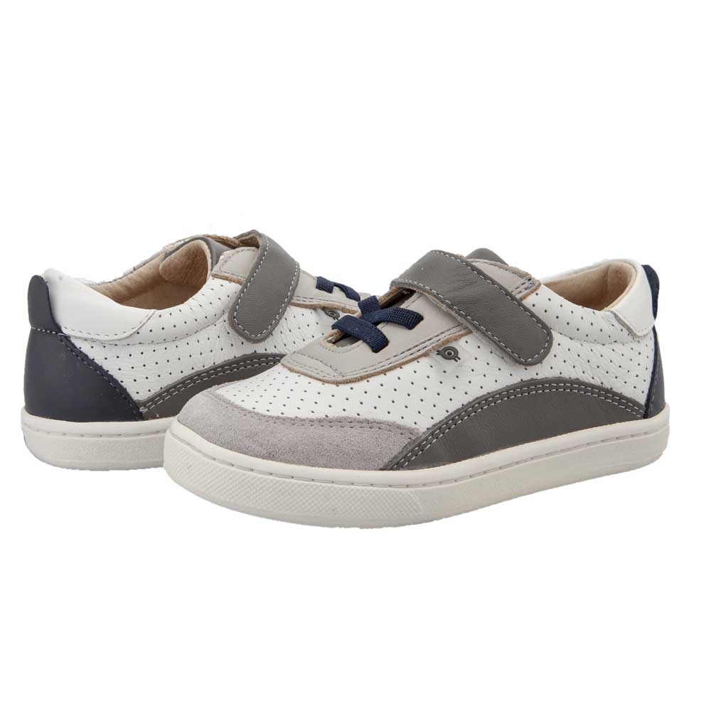 The Hub Kids Shoe Snow/Grey