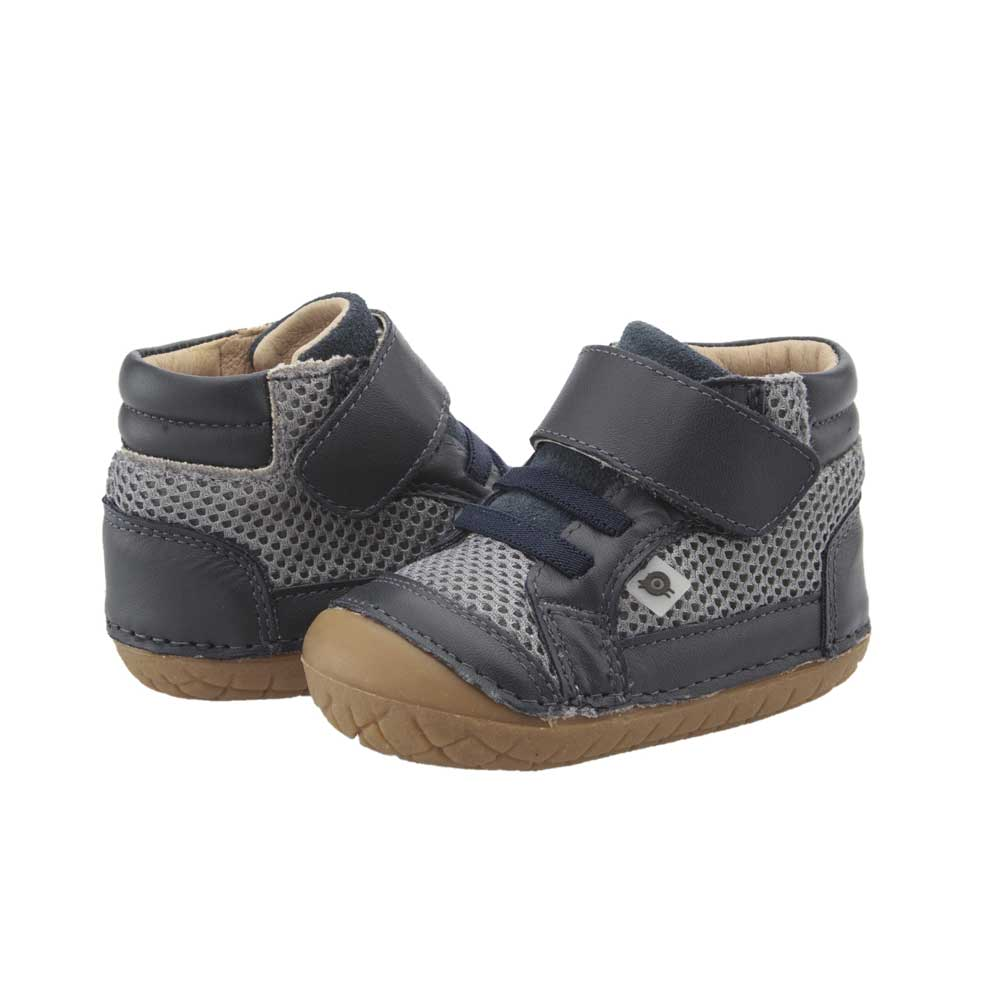 Timber Pave Toddler Shoe Navy/Grey