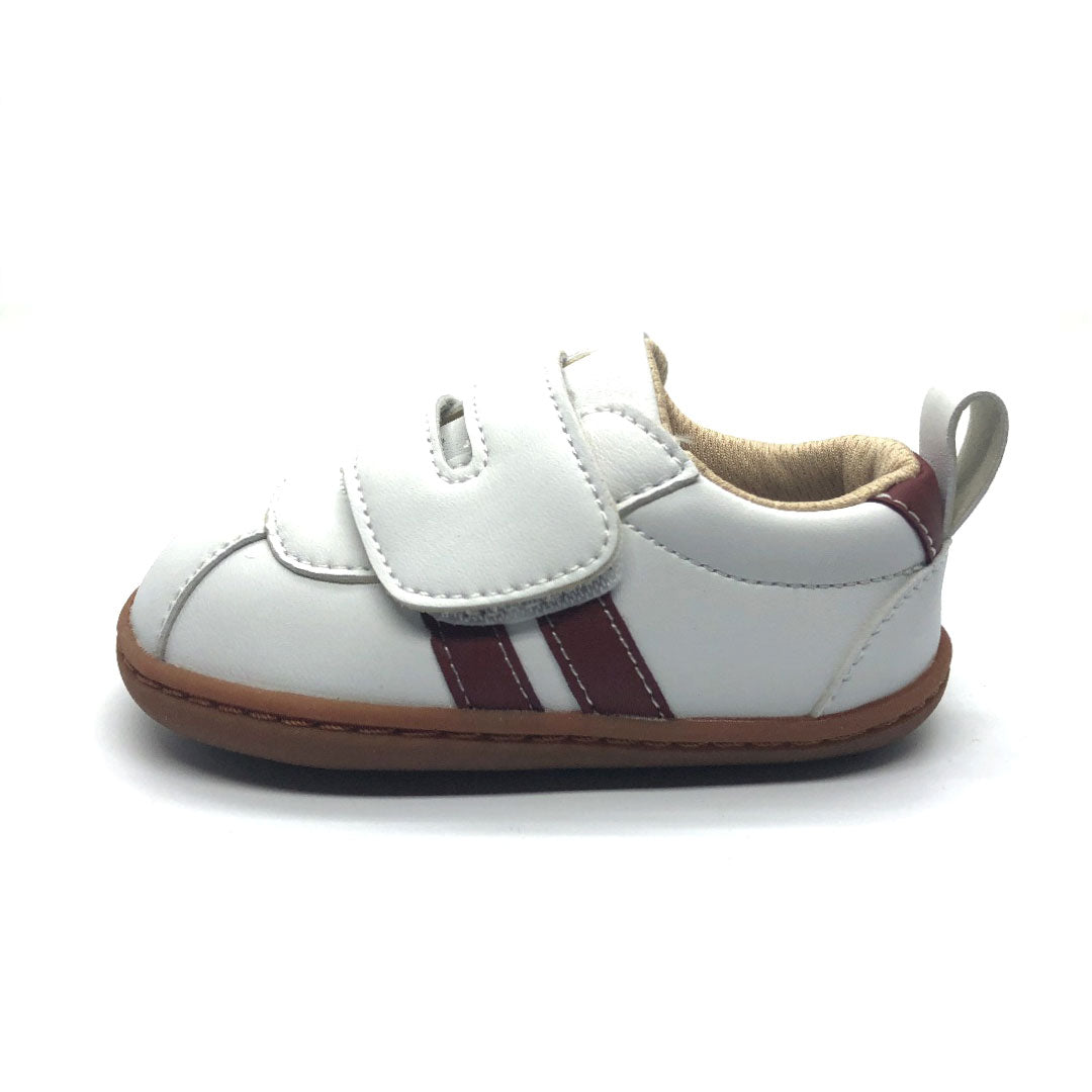 Toby Baby Shoe white and and brown