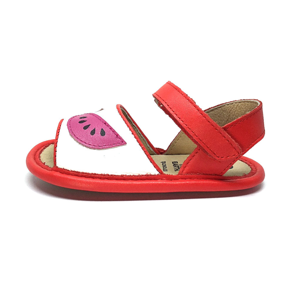 Trop Bambini Sandal Snow/Red