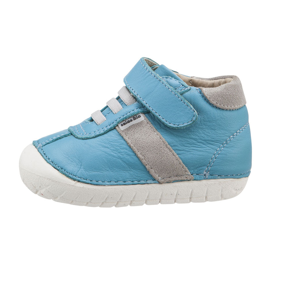 Pave Tudor High Top Turquoise