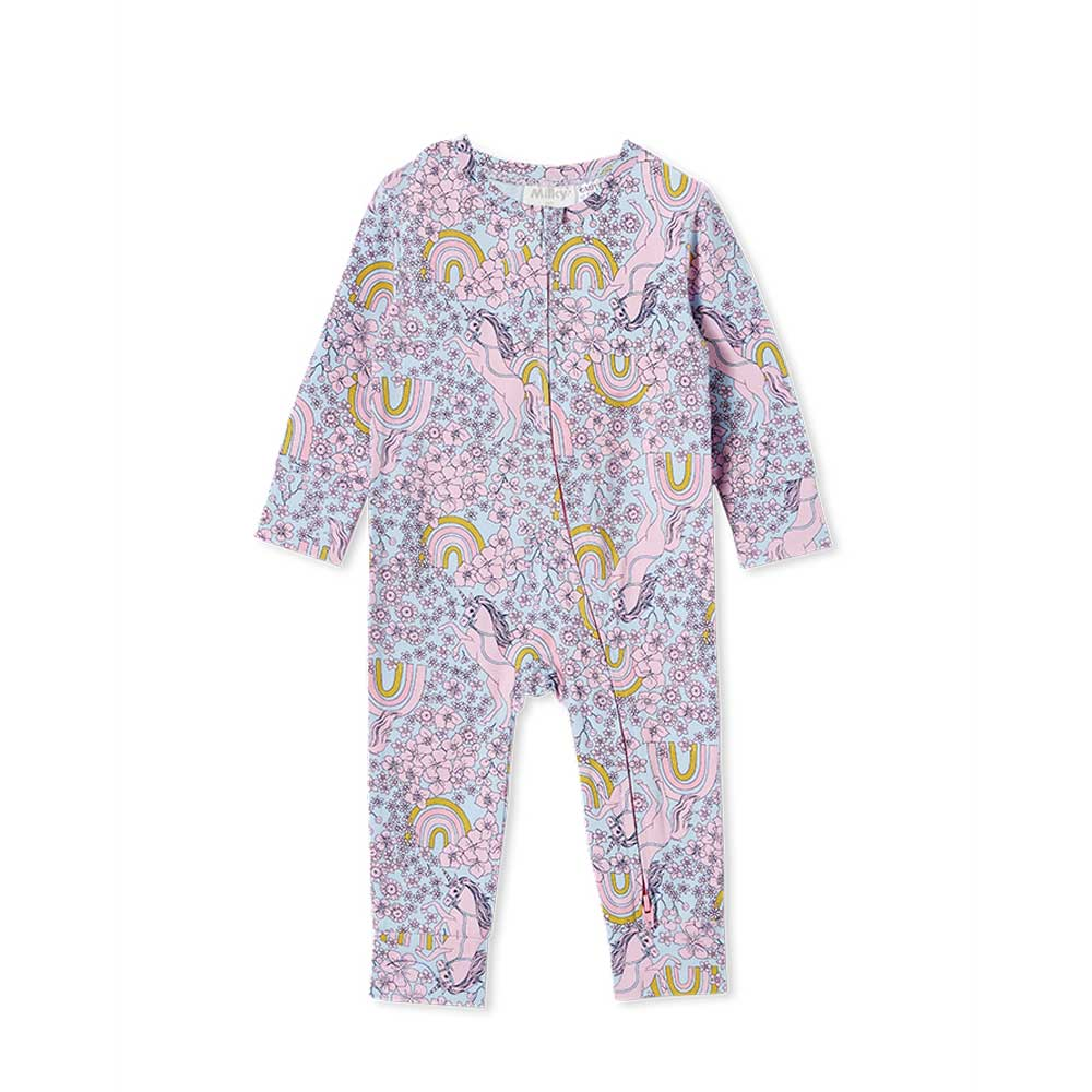 Unicorn Sleep Romper