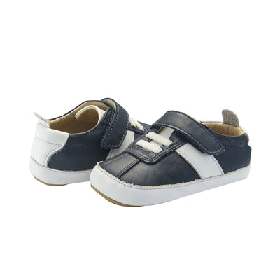 Vintage Baby Shoe Navy
