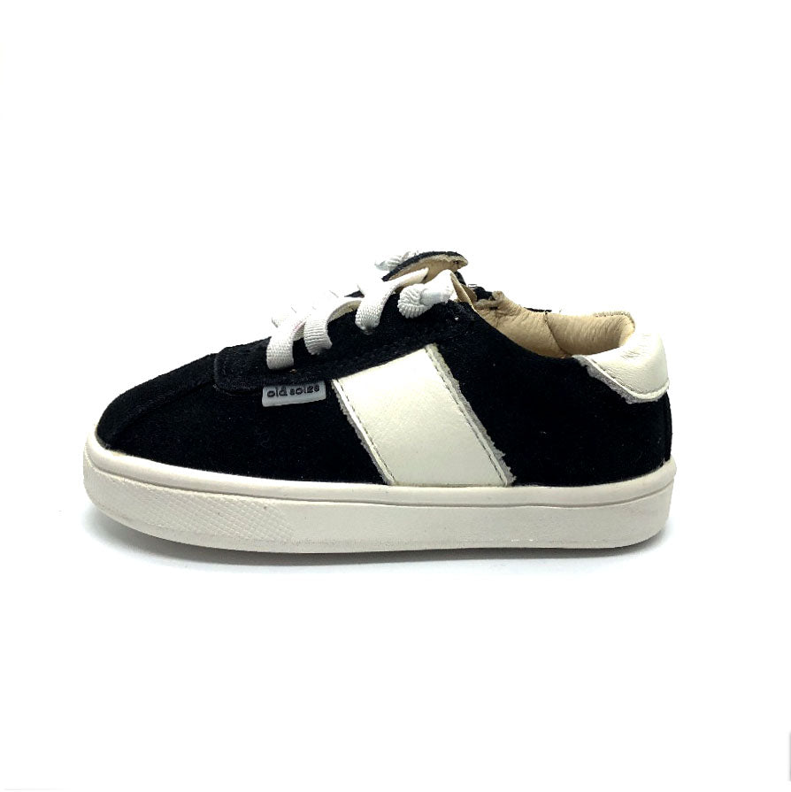 Vintage Toddler Shoe Black Suede