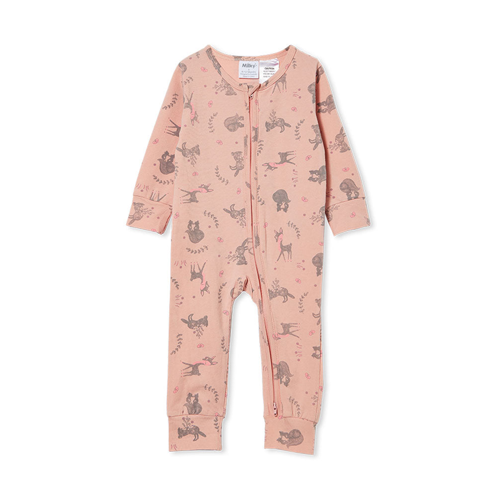 Woodland Sleep Romper