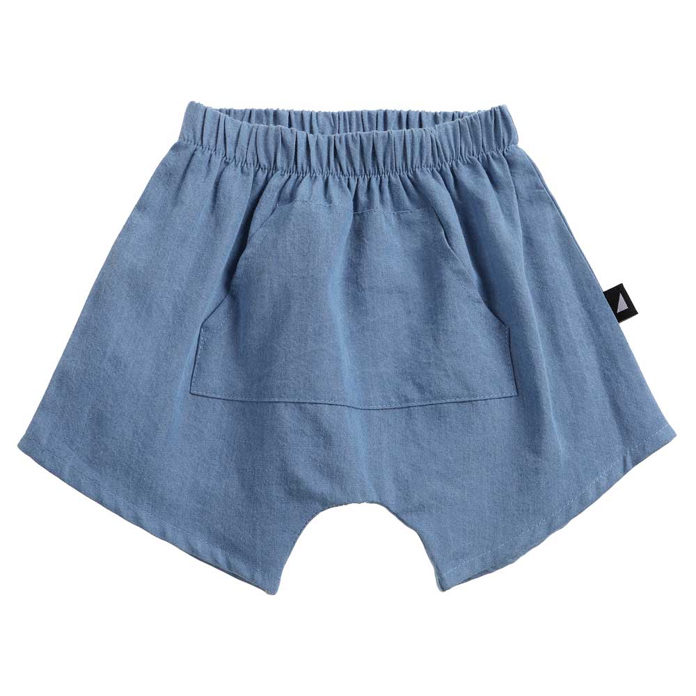Organic Chambray Pocket Shorts