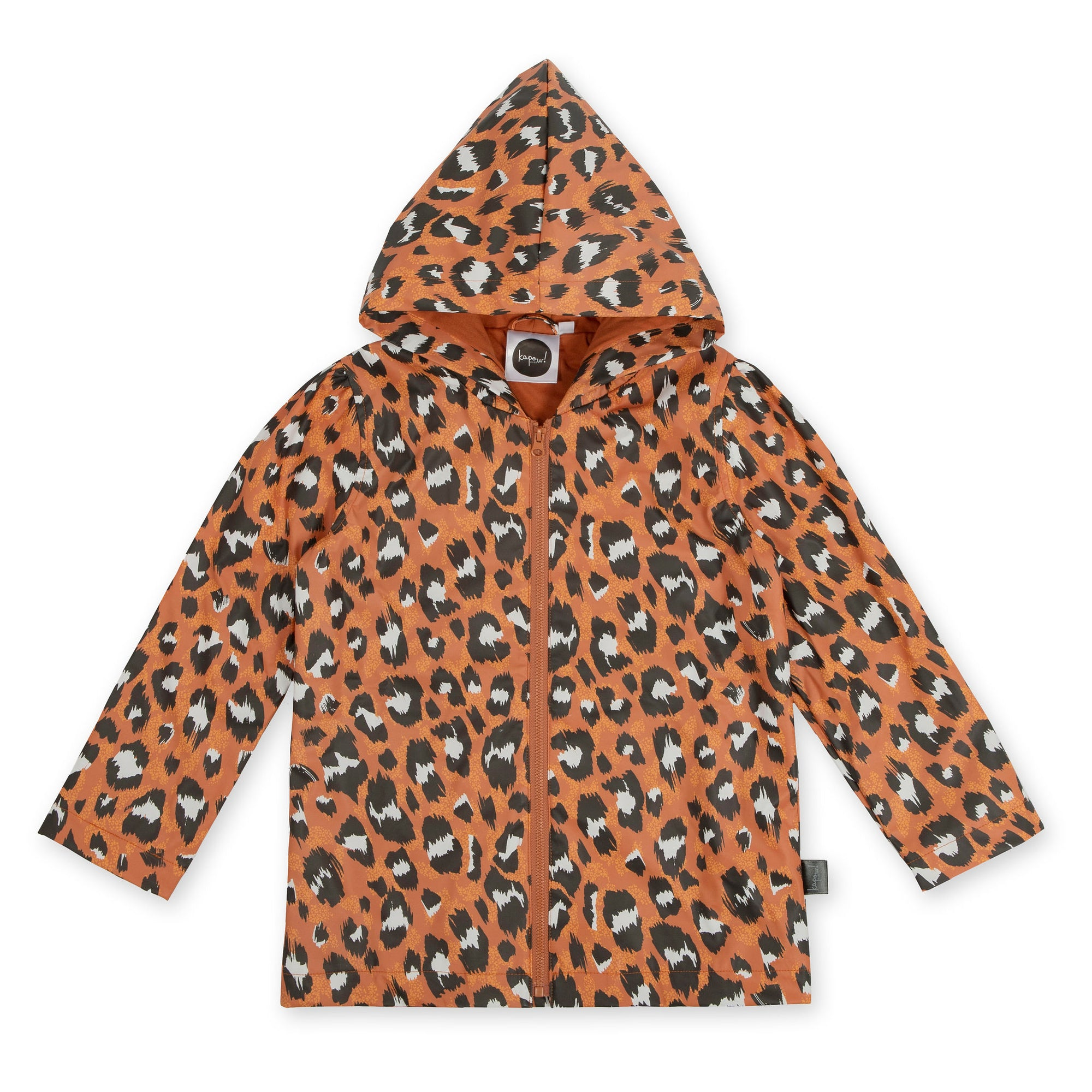 Wilds Chocolate Kids Raincoat