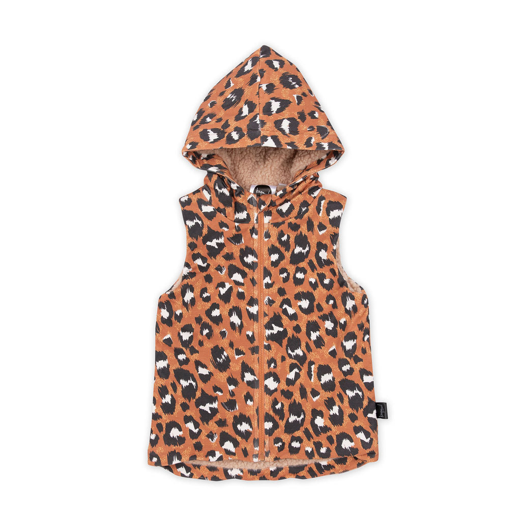 Wilds Chocolate Hooded Vest