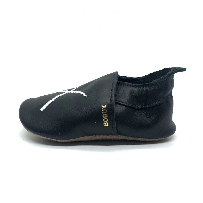 XO Soft Sole Baby Shoe Black