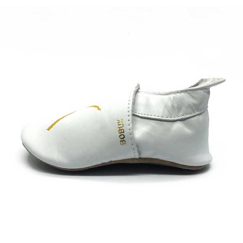 XO Soft Sole Baby Shoe White