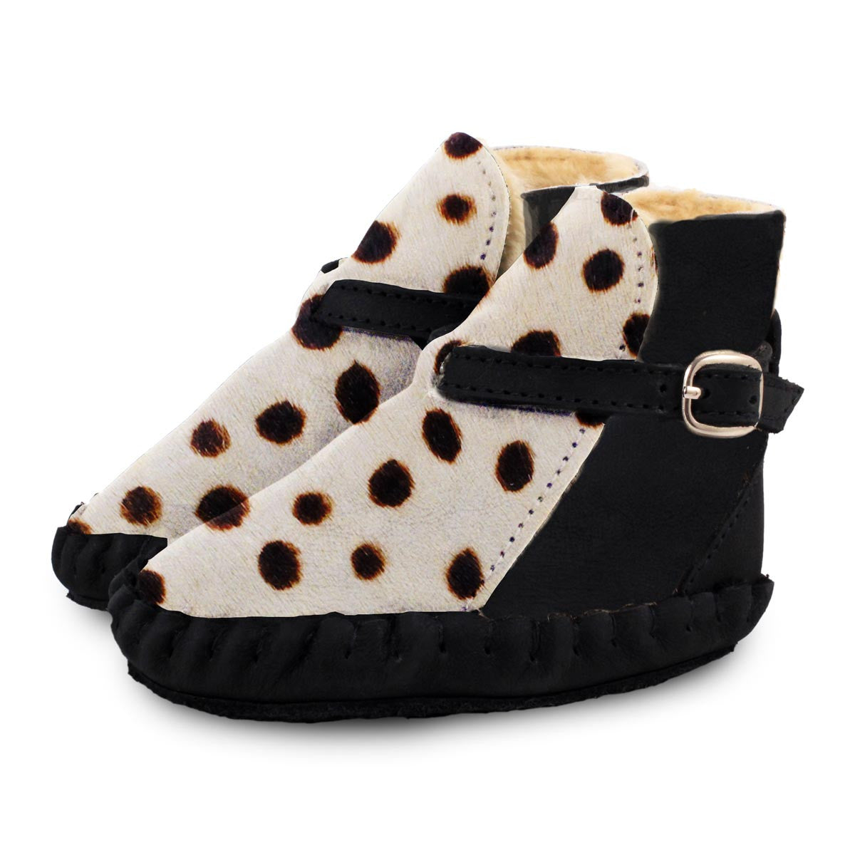 Abby Lined Boot Dalmatian