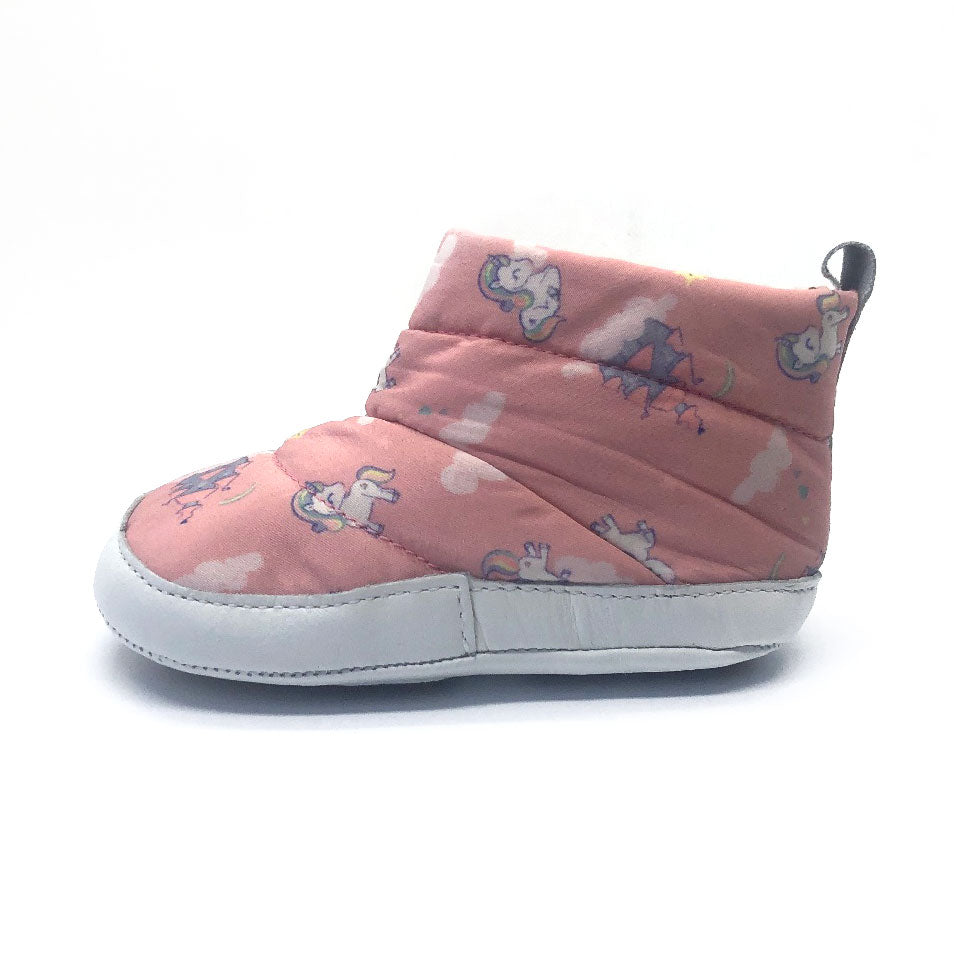 Afeto Baby Boot Pink Unicorn