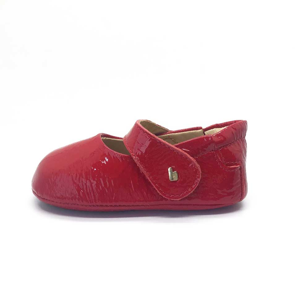 Afeto Baby Shoe Red