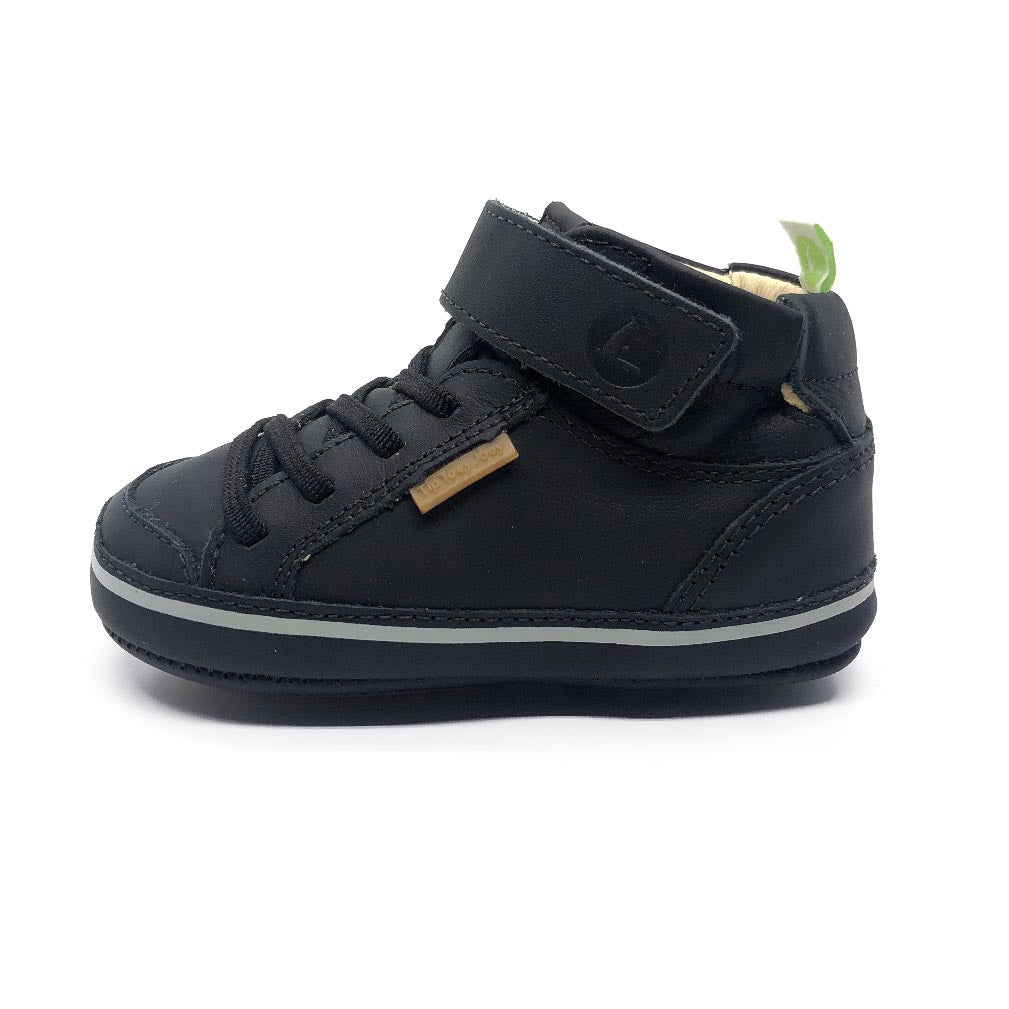 Alley High Top Toddler Boots Black