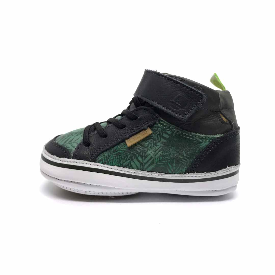 Alley High Top Green Palm