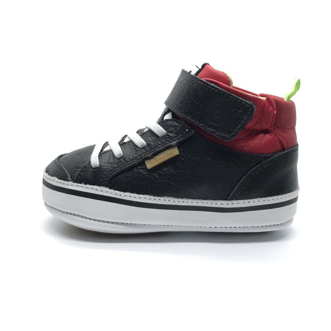 Tip Toey Joey Alley High Top Black/Pomo
