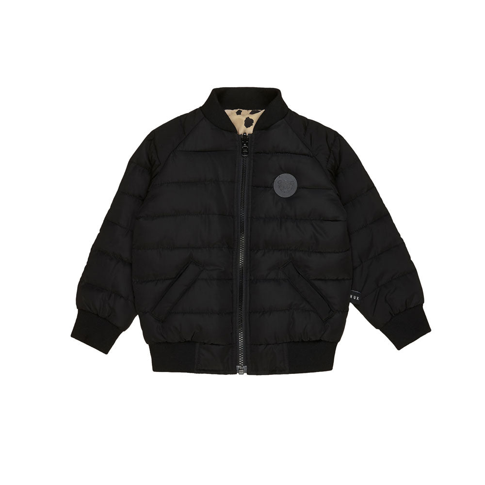 Animal Spot Reversible Bomber Jacket