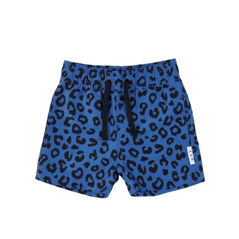 Animal Swim Short Bright Blue
