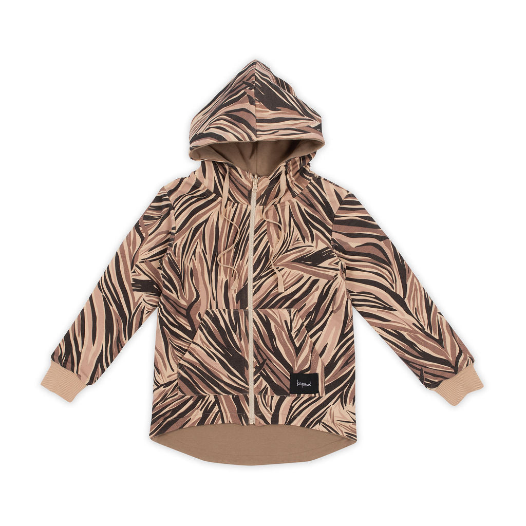 Animalistic Reversible Zip Jacket
