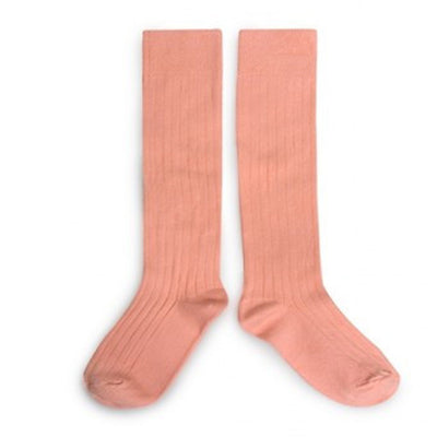 Apricot Knee High Socks