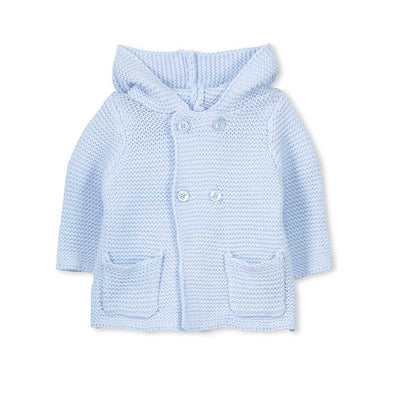 Baby Knit Jacket Blue