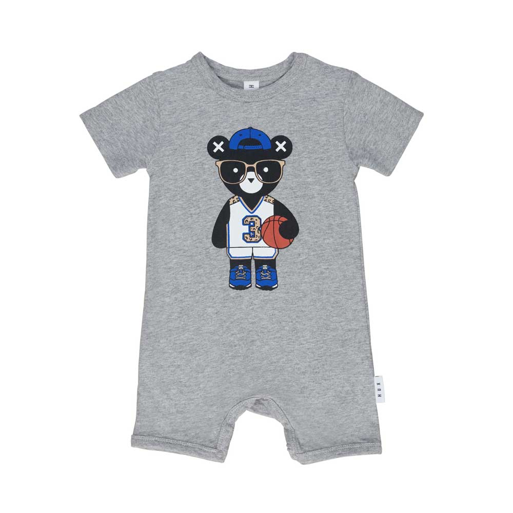 Basketball Hux Short Baby Romper