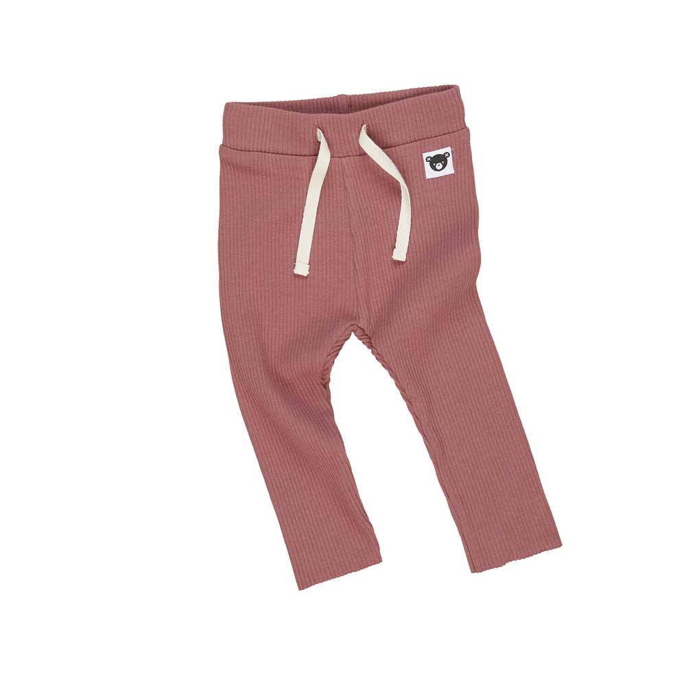Rib Legging Plum