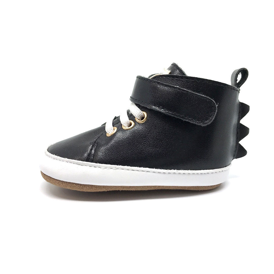 Black Dragon High Top Baby Boots