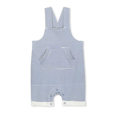 Blue Stripe Baby overall