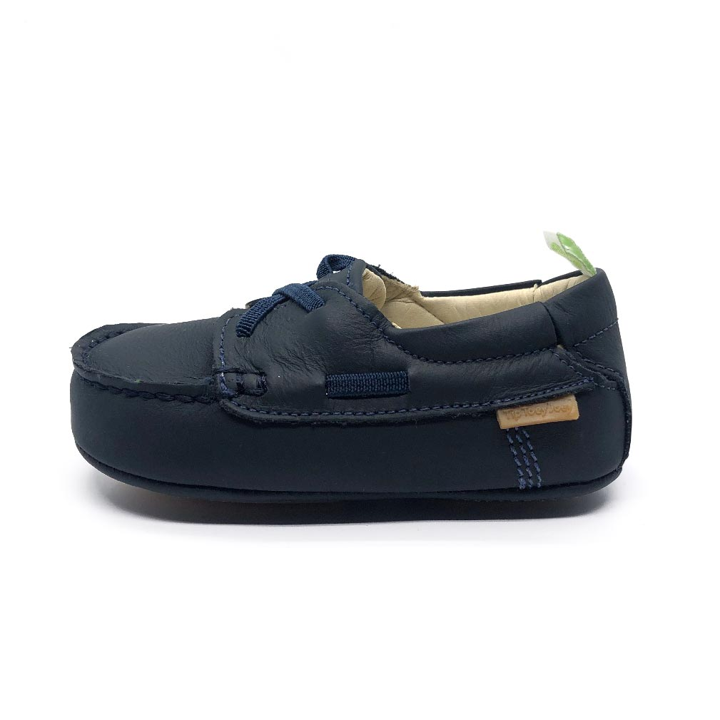Boaty Baby Shoe in Navy