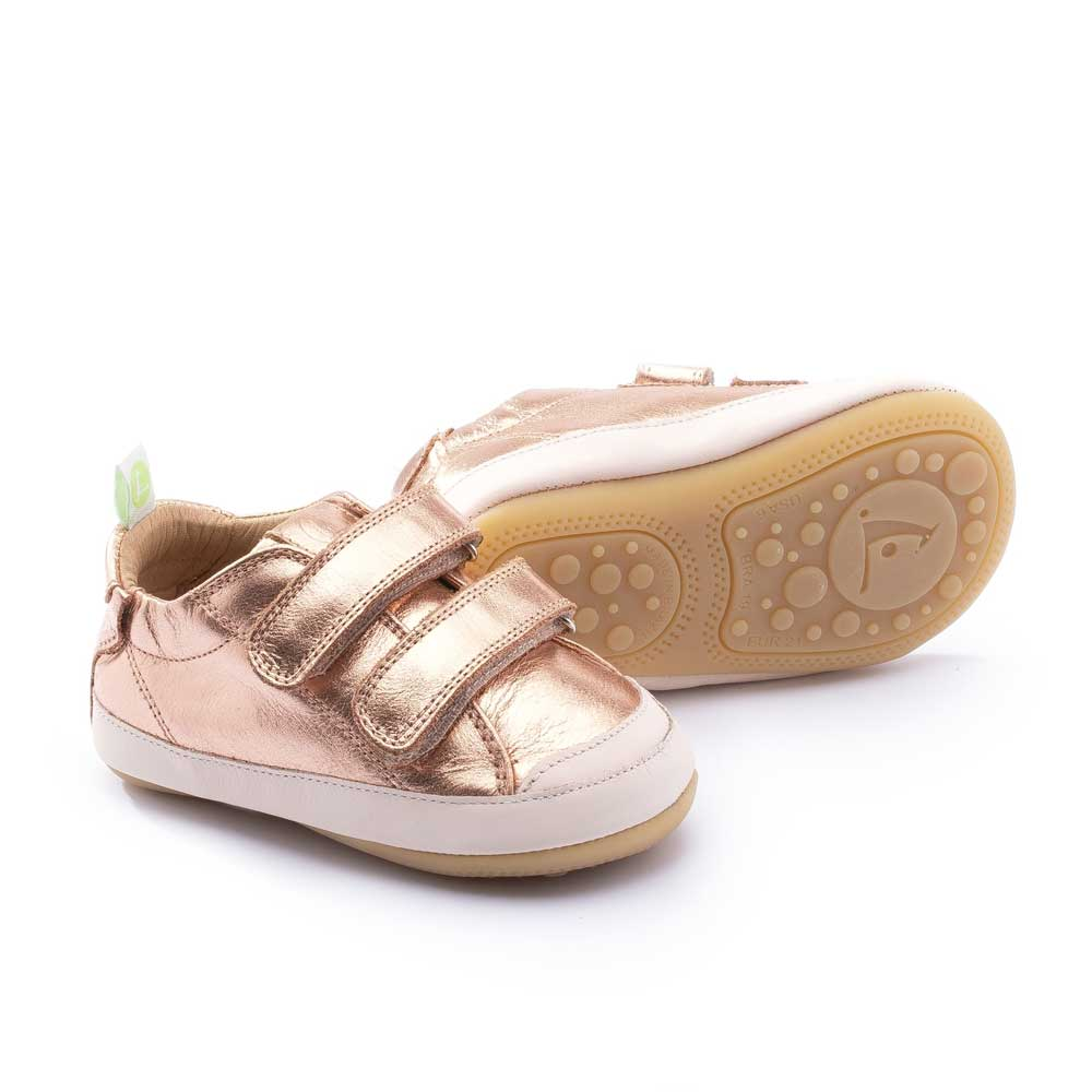 Bossy Baby Shoe Copper Shine