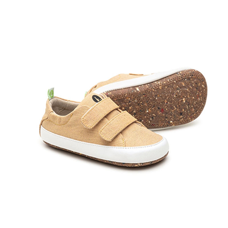 Bossy Baby Shoe Mostardo Canvas (green range)