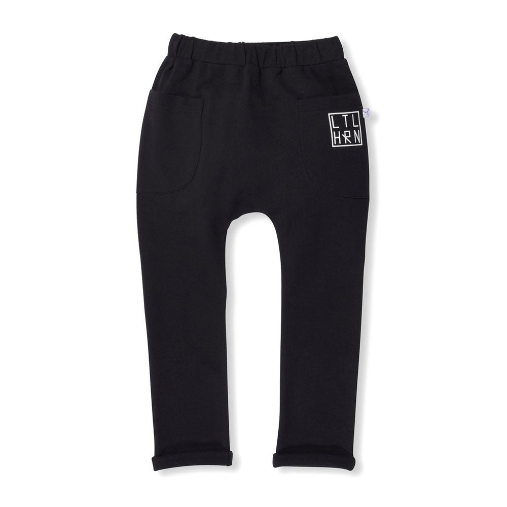 Branded Roll Up Track Pants