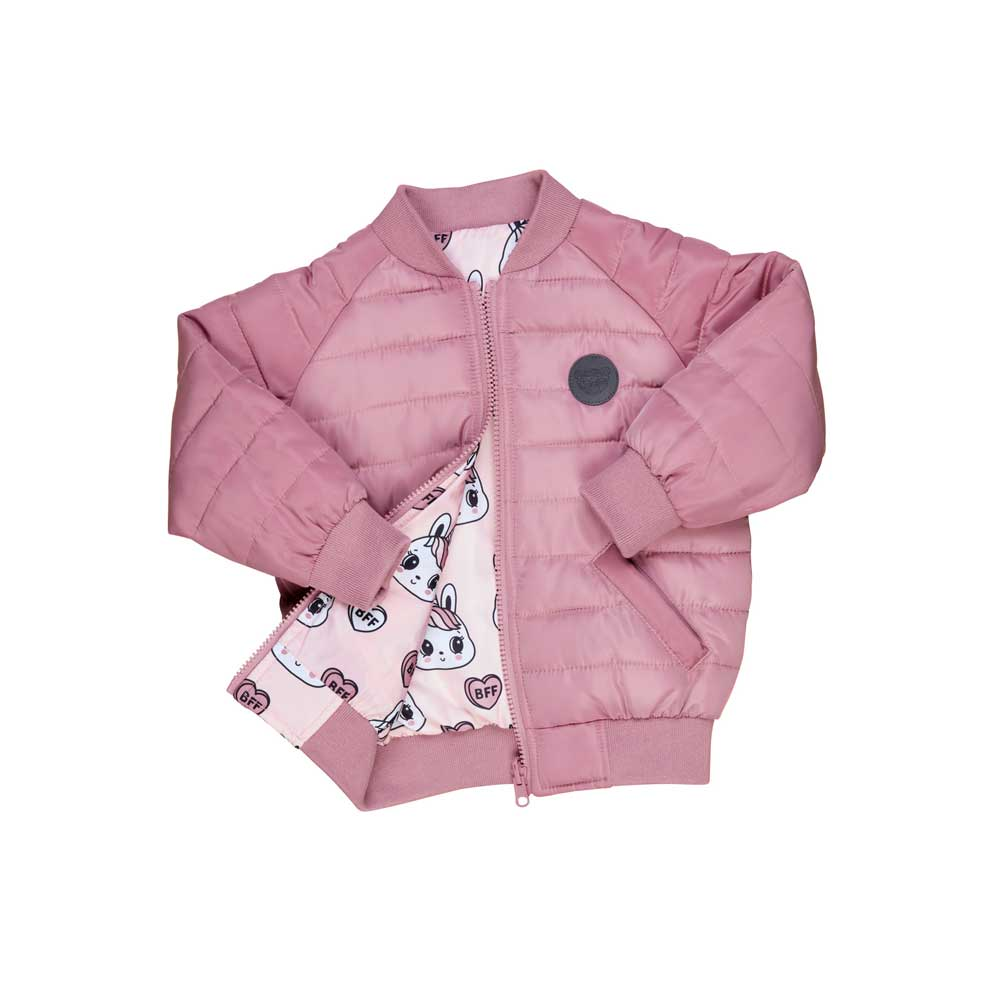 Bunny Love Reversible Bomber Jacket