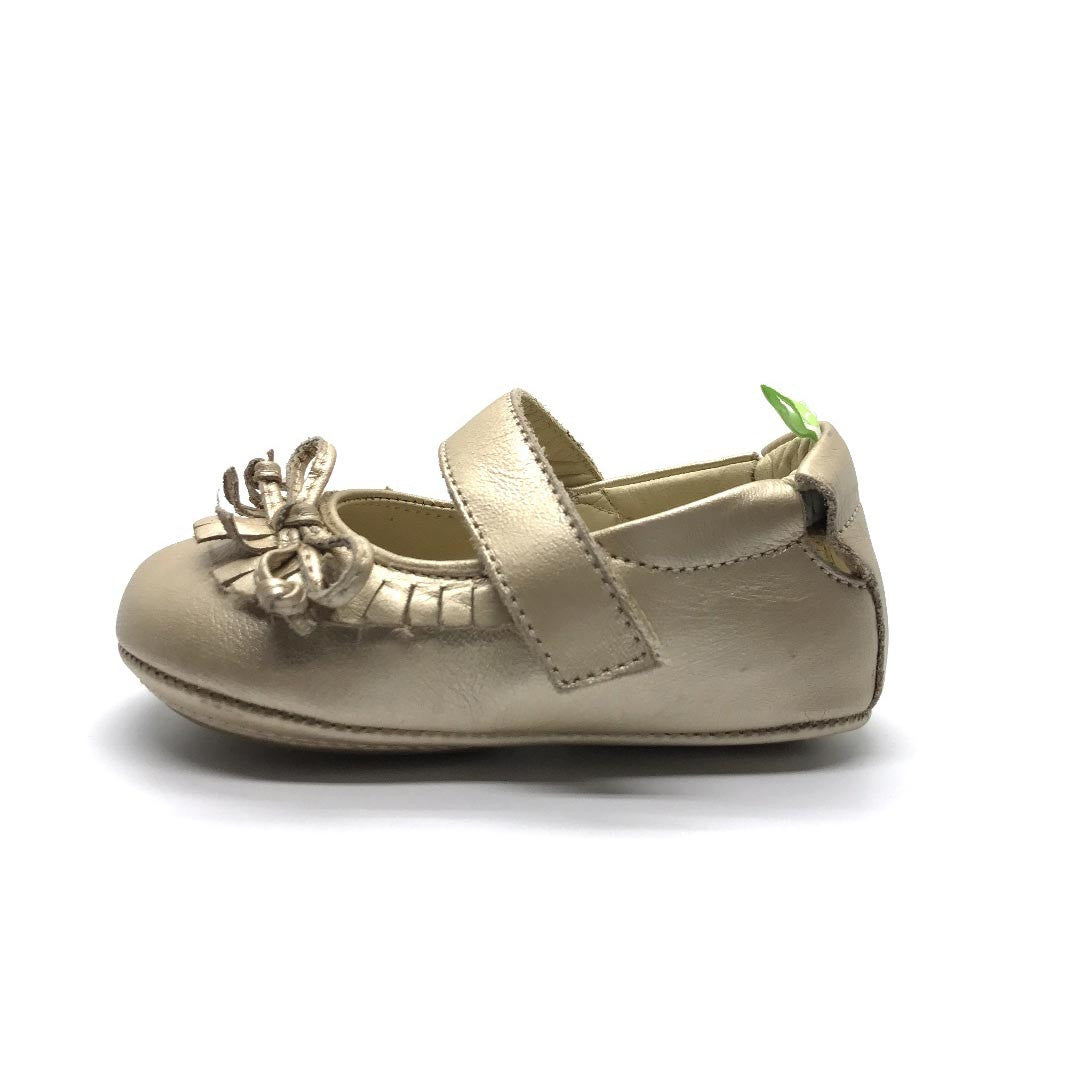 Tip Toey Joey Candy Baby Shoe Fine Gold
