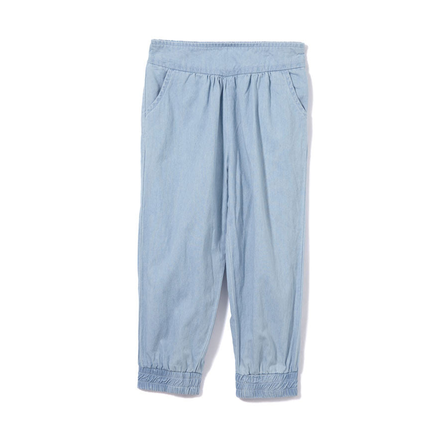 Chambray Girls Pants