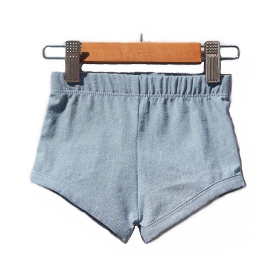 Chambray Shorties