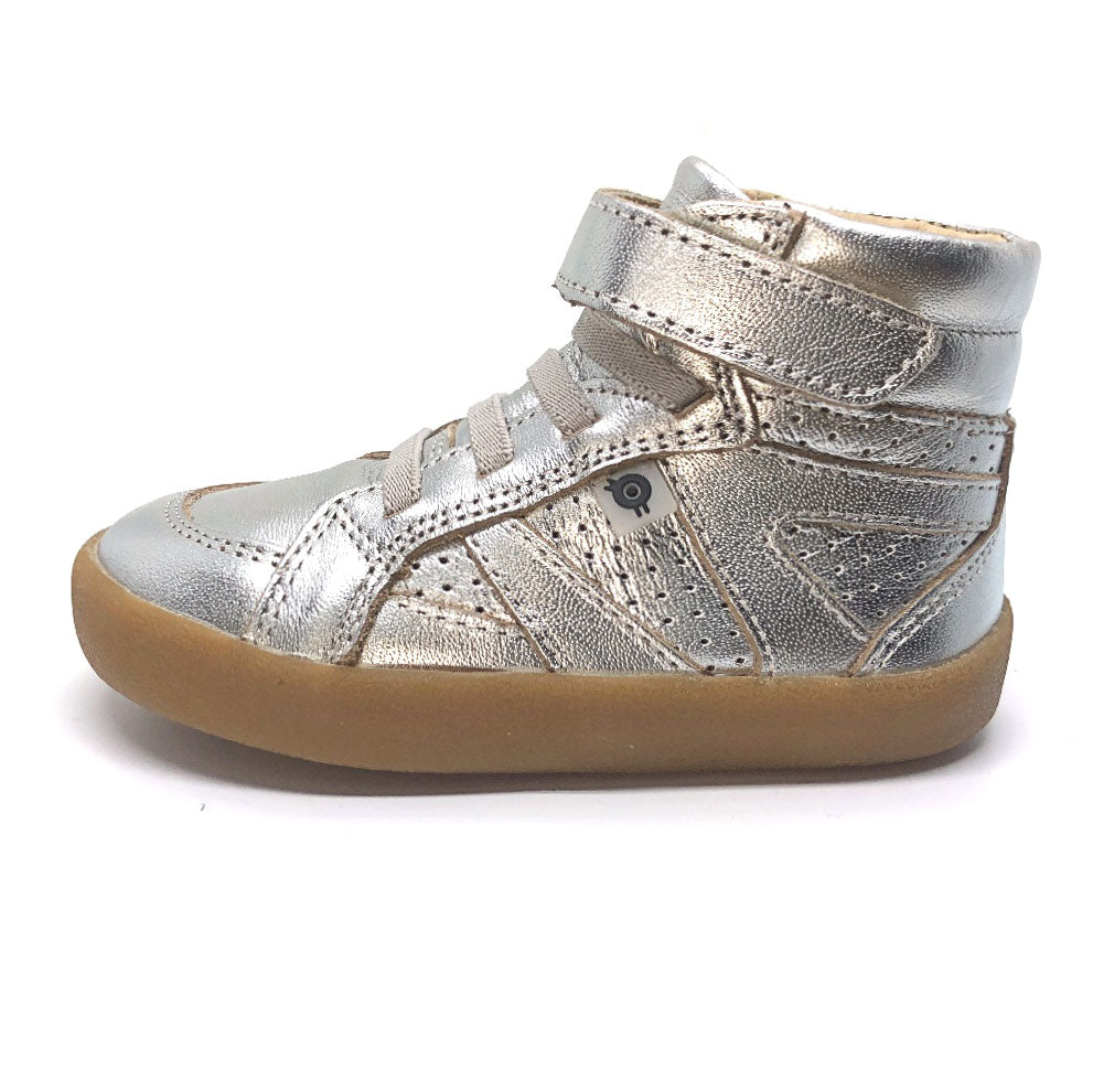 Silver Cheer High Tops