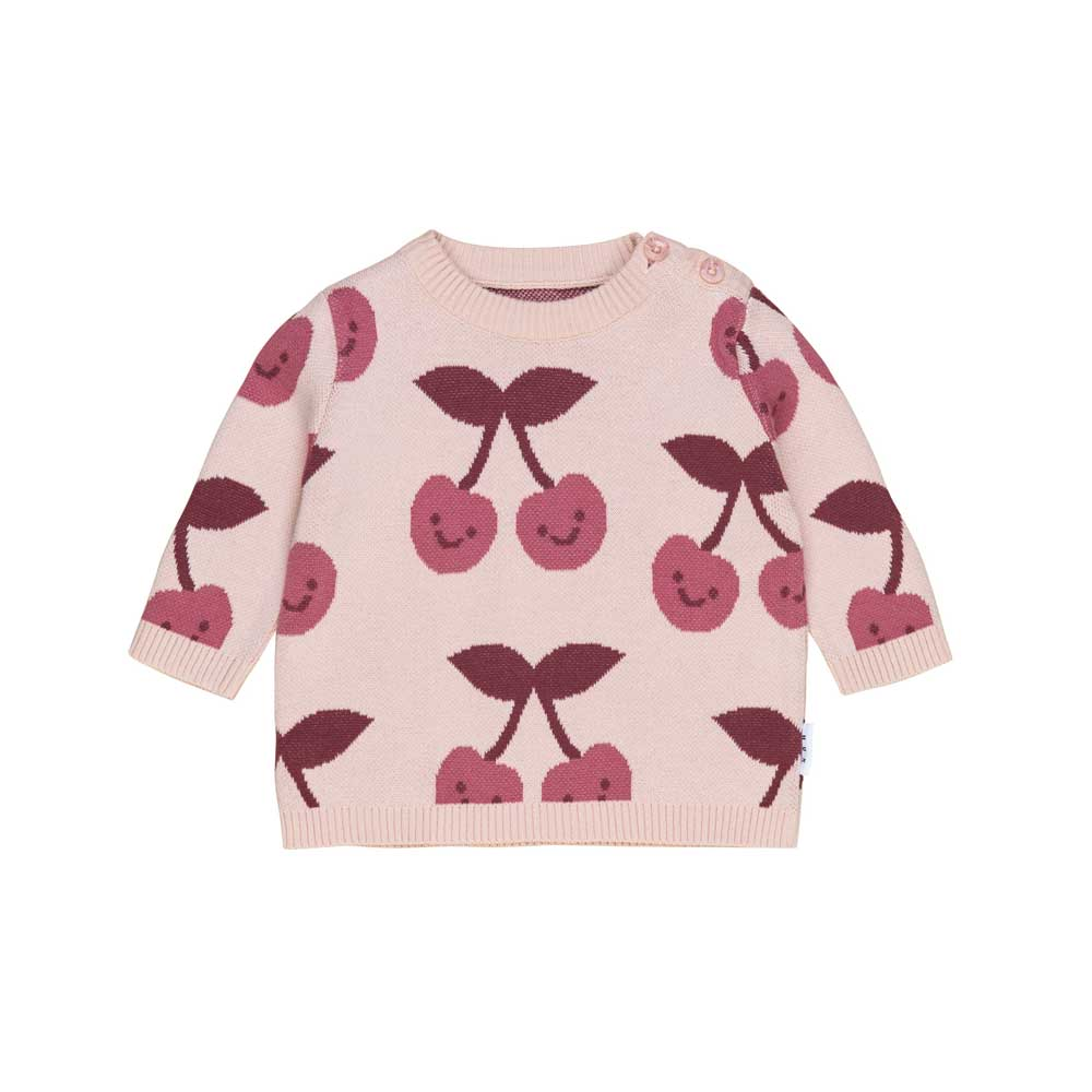 Cherry Knit Girls Jumper
