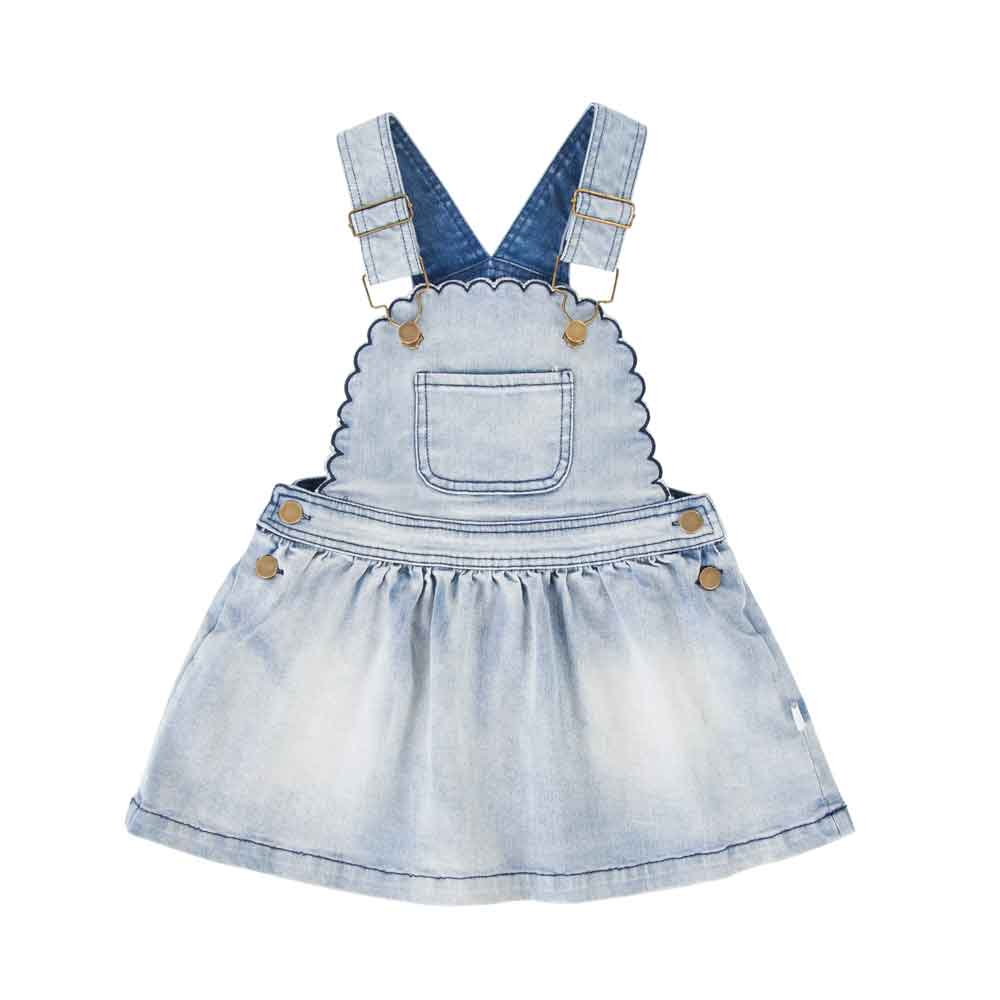 Cleo Pinafore Denim