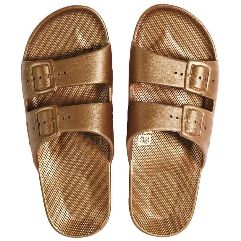 Womens Summer Slide Copper